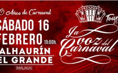 Homenaje a los 30 años del Carnaval de Alhaurín El Grande